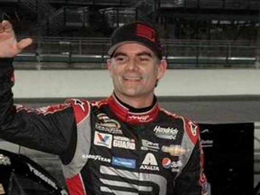 NASCAR Gordon Final Season Auto Racing