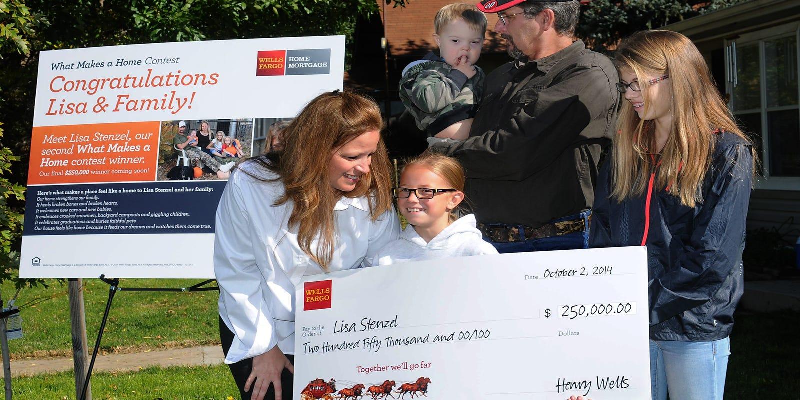 Timnath woman wins $250,000 from Wells Fargo