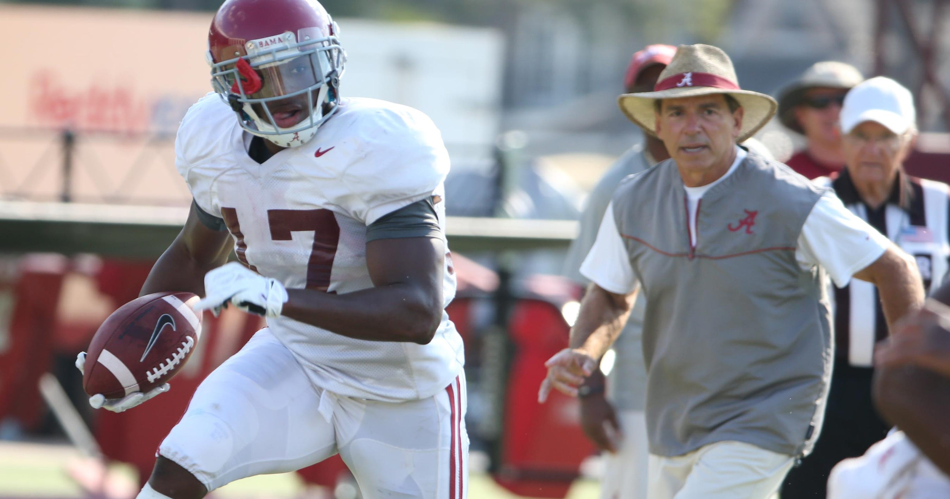 super popular 6ffeb 91ac1 Alabama notebook: Drake thrilled to shed black jersey