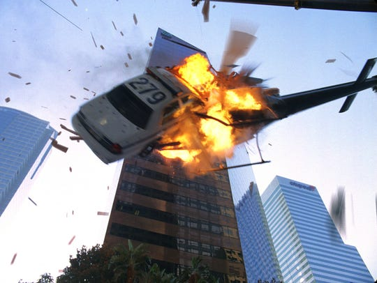 A scene from the motion picture Live Free or Die Hard.