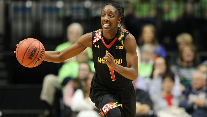 Maryland is the No. 1 seed in the Spokane region. The Terrapins will take on No. 16 seed New Mexico State in the first round of the NCAA women's basketball tournament.