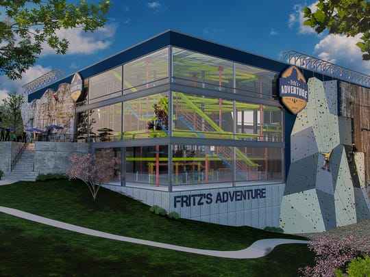 Fritz's Adventure, a $10 indoor entertainment complex, would be dwarfed by the $446 million Branson Adventures indoor-outdoor water park and resort.