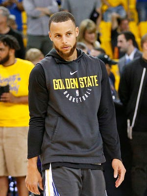 Warriors guard Stephen Curry  agreed with LeBron James in saying the 2018 NBA champions won't want a White House invitation.