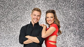 Amy Purdy dances with the stars