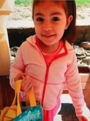 Gabriella Maria Boyd, the two-year-old girl who dies