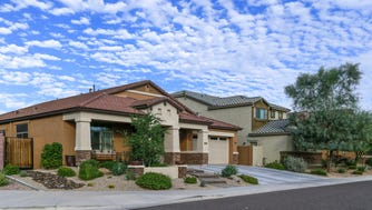 A suburban area with an urban feel defines Desert Ridge, a north Phoenix neighborhood.