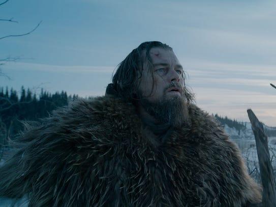 Leo DiCaprio as fur trader Hugh Glass in 'The Revenant.'