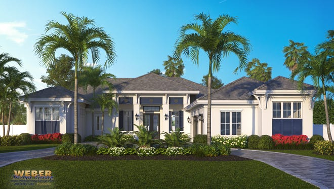 Borelli Construction has a new lakefront model under in Park Shore.