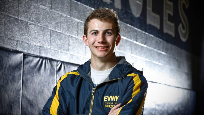 Greg Lux, Eden Valley-Watkins/Kimball, has been named the Times Media Prep Athlete of the Week shown Wednesday, April 26, in Eden Valley.