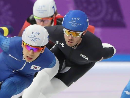 USP OLYMPICS: SPEED SKATING S OLY KOR