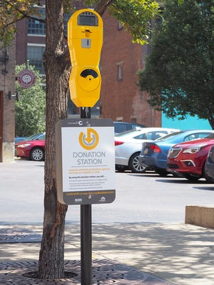Repurposed parking meters will collect donations for the homeless in Downtown and Over-the-Rhine.
