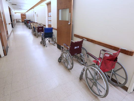 The patients are all gone at Summit Park Hospital and