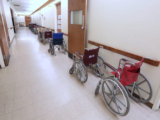 The patients are all gone at Summit Park Hospital and Nursing Care Center in Ramapo Dec. 21, 2015.