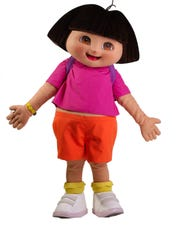 Dora the Explorer and Diego are at The Naples Zoo at
