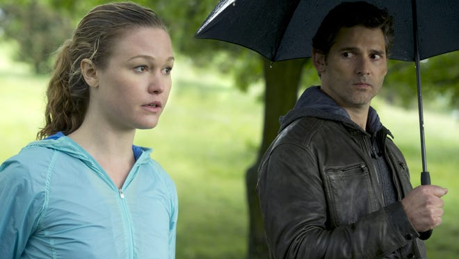 'Closed Circuit,' starring Julia Stiles and Eric Bana, opens Wednesday.