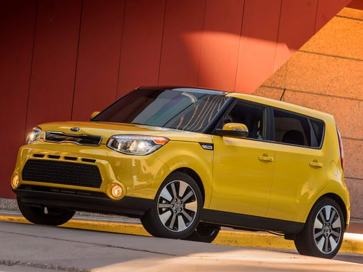 No. 1: The Kia Soul (2015 shown here) is No. 1 on the list of Top 10 cars for urban drivers as voted by the editors of shopping site Cars.com.