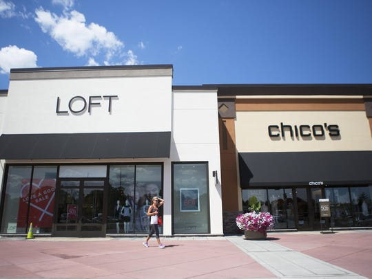 LOFT and Chico's are two stores in a newly constructed