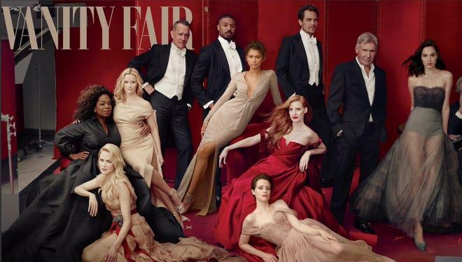 Vanity Fair Hollywood portfolio features several big name stars.