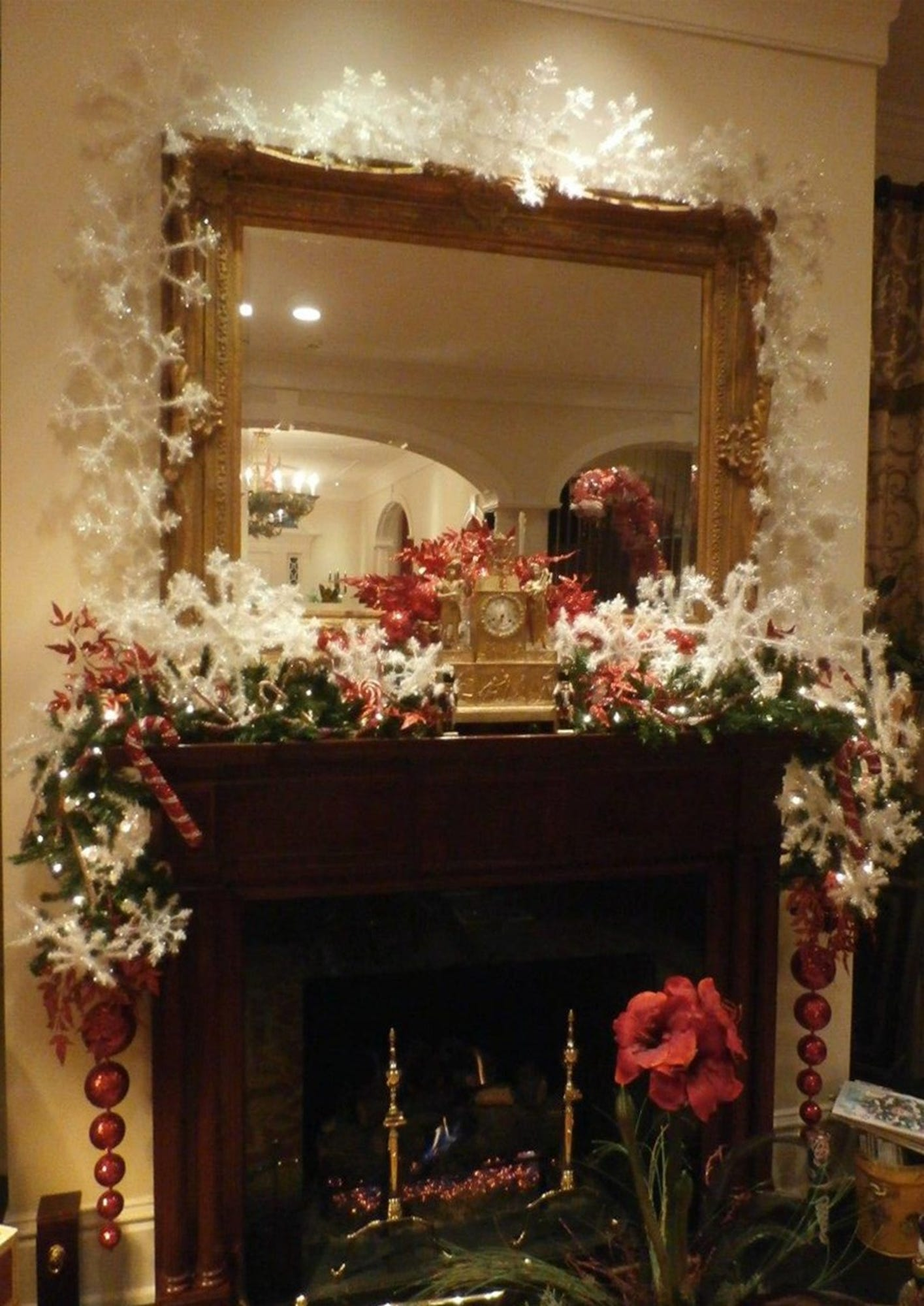 Make your mantel sing for the holidays