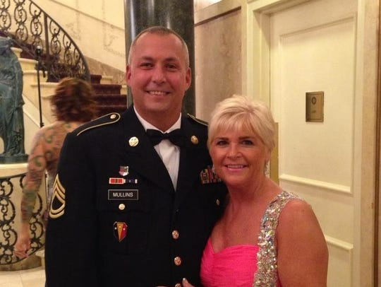Jeff Mullins and his wife, Nancy Sweeney Mullins.