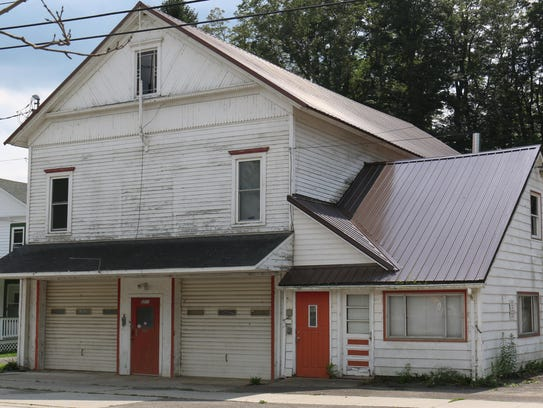 The old Lisle Village Hall was the site of the first