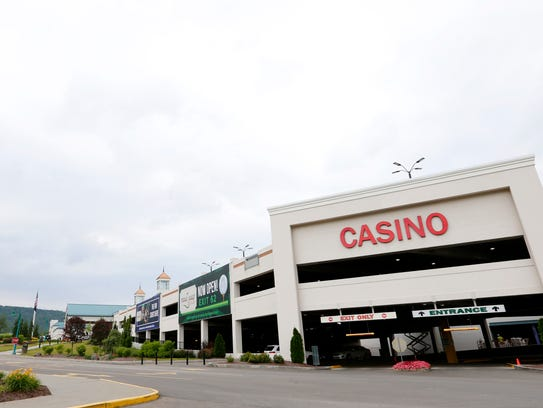 Gaming tax revenues from Tioga Downs Casino, on West