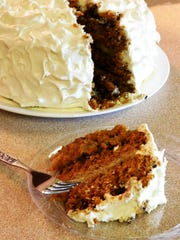 This layered carrot cake is a practice run for Joe