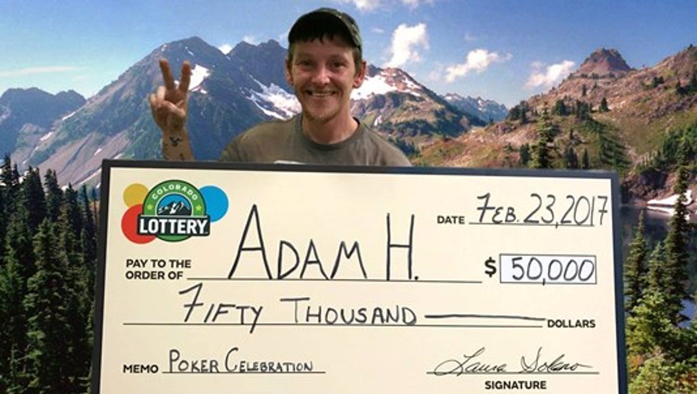 Denver man down on his luck wins 50k lotto prize - Theusd house built in six weeks a young mans gut check ...