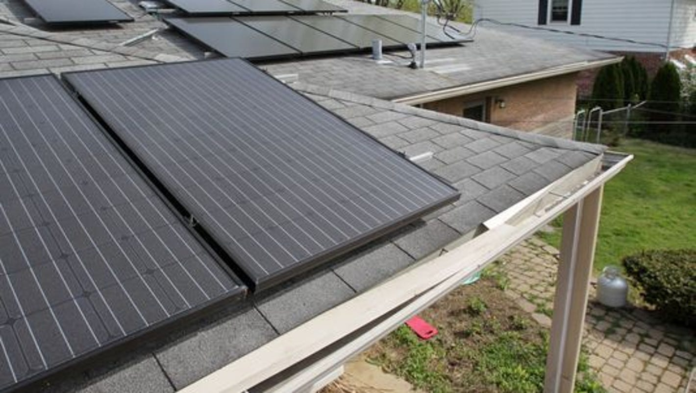 Solar Energy At Crossroads In Indiana