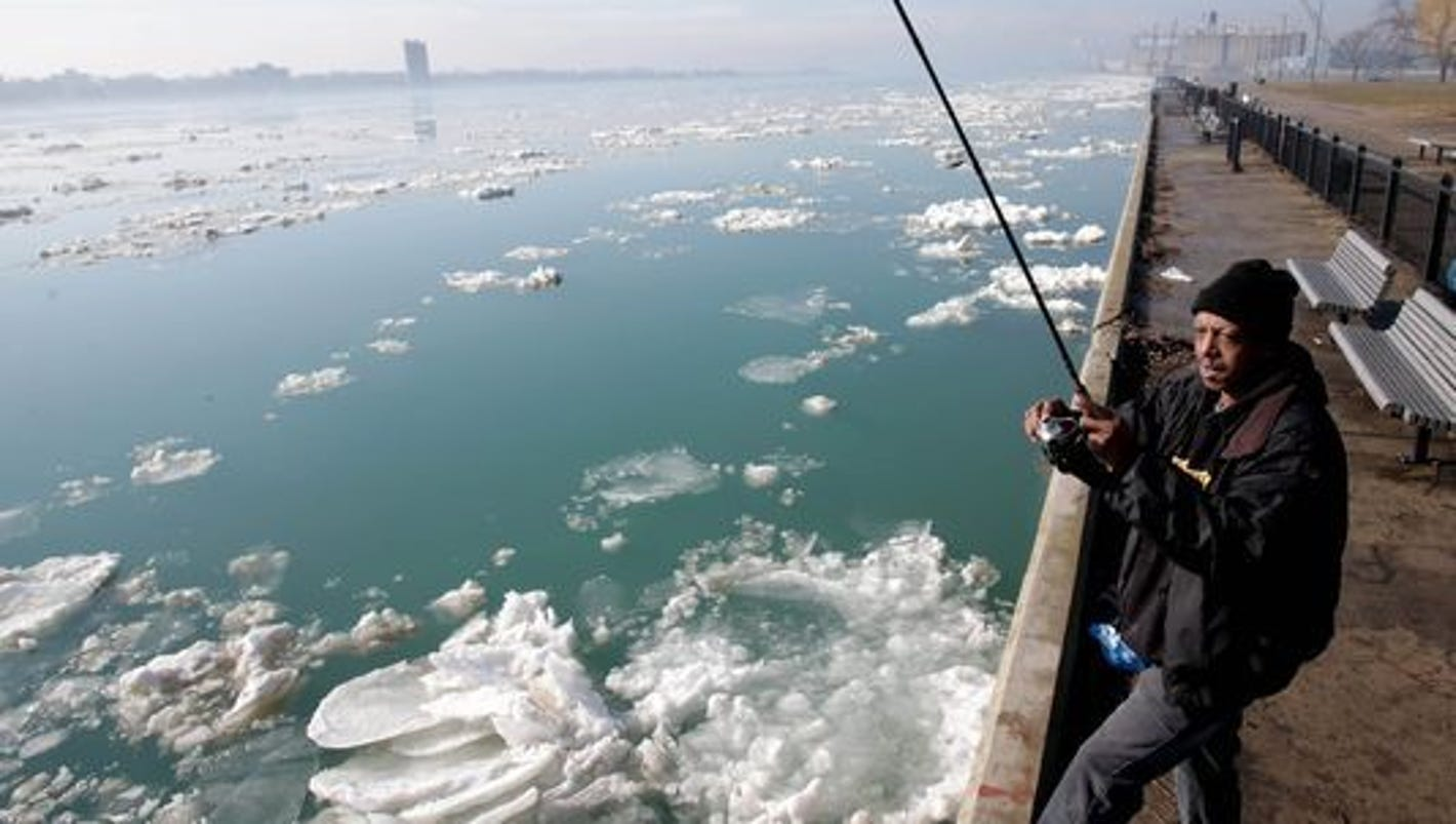 Scientists puzzled by mercury jump in great lakes fish for Detroit river fishing