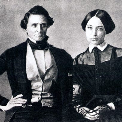 Charles Frazier gives Jefferson Davis' wife a voice