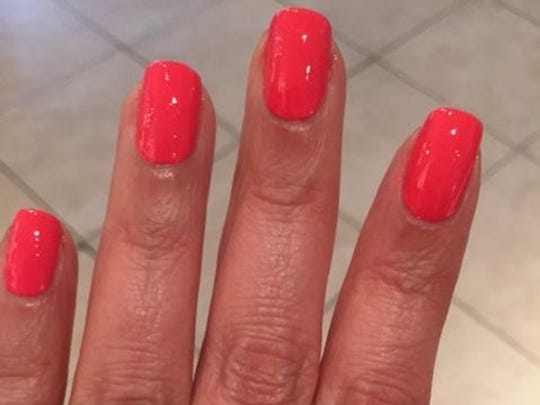 Infinite polish by OPI on day one. Color: From Here to Eternity.