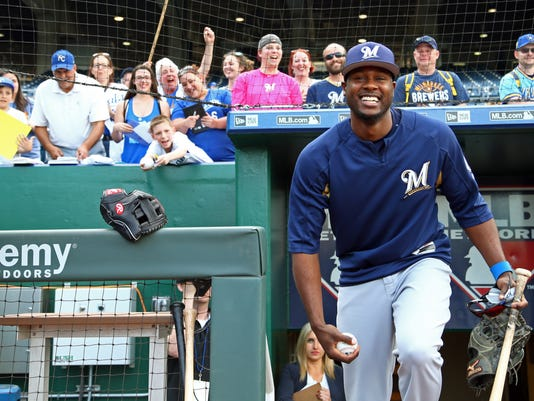 MLB: Milwaukee Brewers at Kansas City Royals