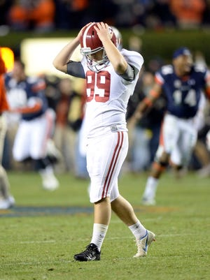 The Alabama Crimson Tide must sit and await their bowl fate after their stunning loss to Auburn.
