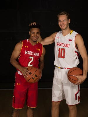 Maryland's Melo Trimble and Jake Layman return to make the Terrapins a top-five preseason team.