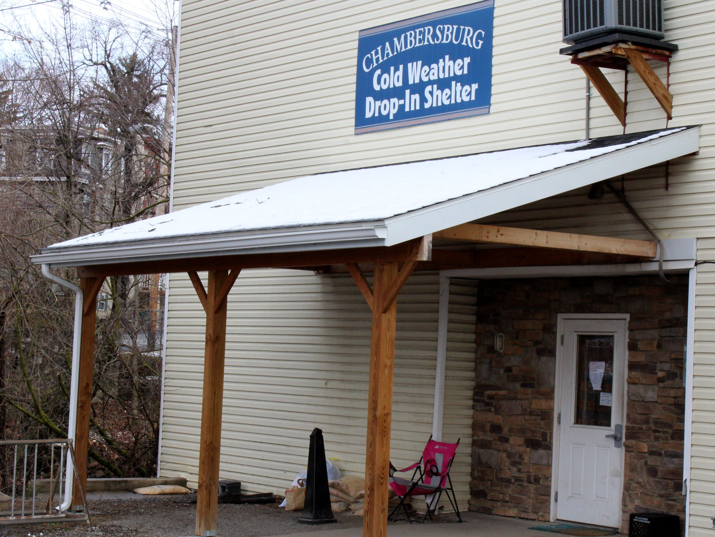 The Chambersburg Cold Weather Drop-In Shelter closed