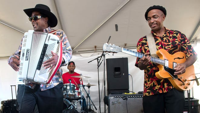 Nathan and the Zydeco Cha Chas perform Friday at Downtown Alive! at Parc International.