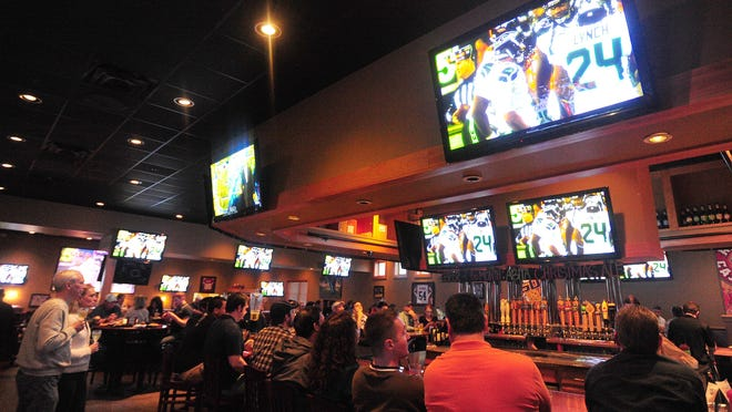 Walk-On's Bistreaux & Bar is a popular spot before, during and after games.