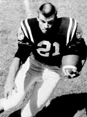 Richard Compton had an unlikely pro football career after playing three seasons at McMurry.
