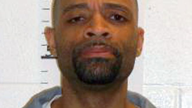 In this photo provided by the Missouri Department of Corrections is Earl Ringo Jr., who is scheduled to die for killing two people in Columbia in 1998.