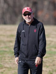 Indiana coach Ron Helmer recently signed a five-year