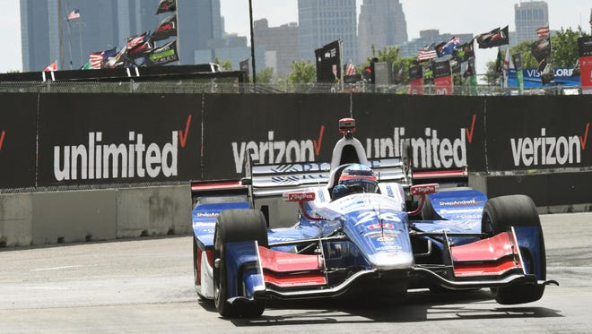The Detroit Grand Prix will mix music with racing on Saturday and Sunday.