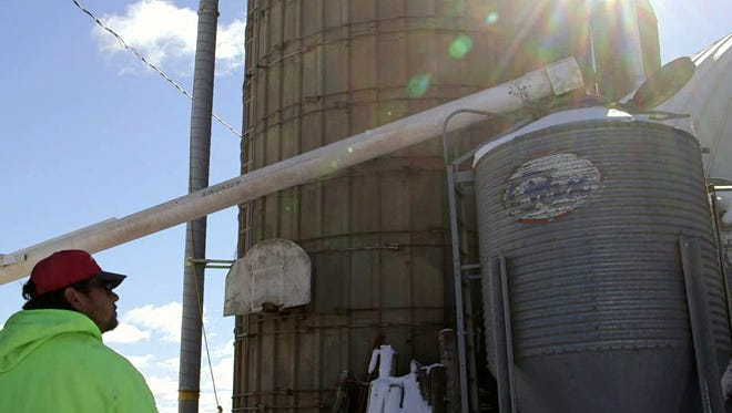 The operators of Olson Feed Service in Crawford County have noticed that farmers are feeling strain and despair.