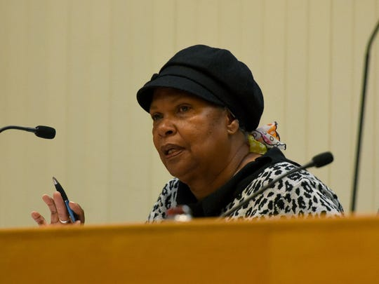 The Knox County Ethics Committee member Barbara Chandler made the motion Wednesday, Mar. 7, 2018 to require another hearing to discuss and possibly vote on the ethics complaint filed against two county commissioners. That motion passed unanimously. The vote does not imply guilt by commissioners Charles Busler and Bob Thomas.