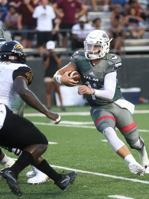 Junior quarterback Garrett Smith made his first start of the season in ULM's 28-17 win over Southern Miss.
