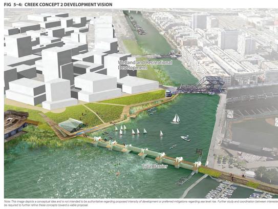 Creek Concept 3 Development Vision