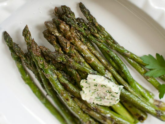 Food American Table Grilled Asparagus