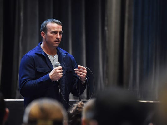 Chris Herren addiction talk