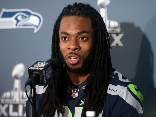 NFL: Super Bowl XLIX-Seattle Seahawks Press Conference