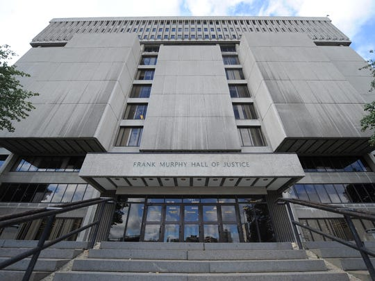 Frank Murphy Hall of Justice in downtown Detroit